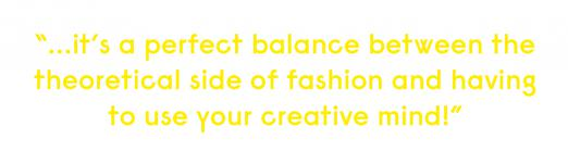 quote fashion business students